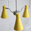 Vintage 1950s Hiscock And Appleby Ceiling Light 6