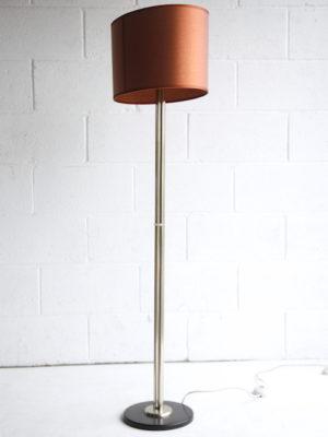 Vintage Chrome Floor Lamp