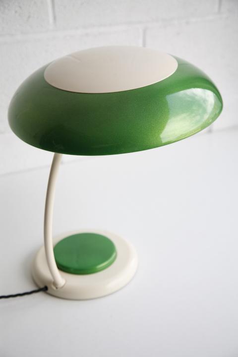 Vintage Green Desk Lamp