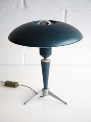 1950s Blue 'Bijou' Table Lamp by Louis Kalff