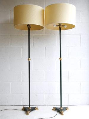 Pair Art Deco Floor Lamps 2