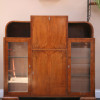 1930s Deco Display Cabinet Bureau