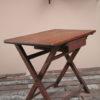 1940s Dark Wood Desk (1)