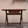 1940s Dark Wood Desk
