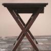 1940s Dark Wood Desk (2)