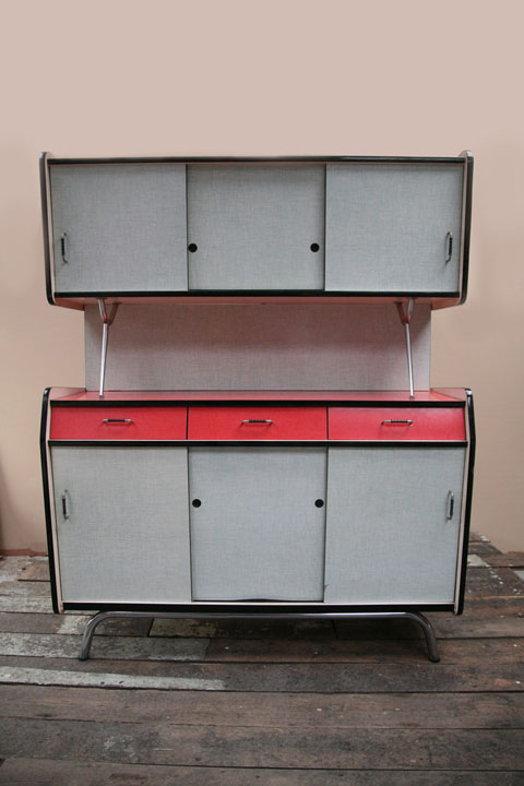 1950s French Sideboard Dresser