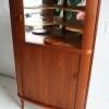 1960s Teak Danish Corner Cabinet2
