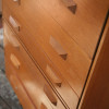 1960s oak Chest of Drawers by Stag UK (2)