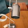 1970s Chrome Desk Lamp (2)