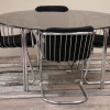 1970s Chrome Dining Chairs (3)