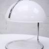 1970s Chrome and White Plastic Desk Lamp (1)