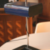 1970s French Plastic Desk Lamp