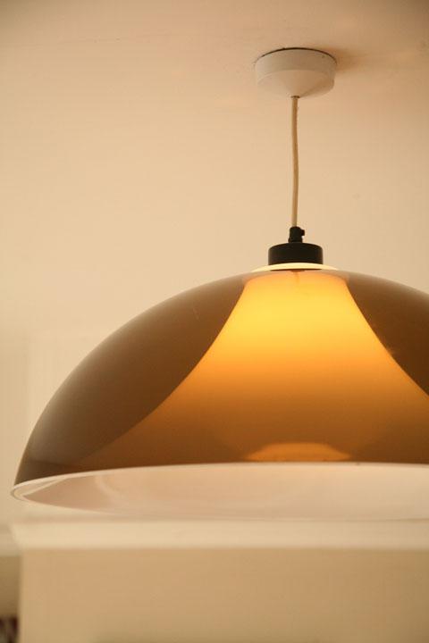 1970s Large Ceiling Light