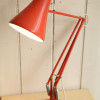 1970s Vintage Orange Anglepoise Desk Lamp (1)