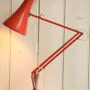 1970s Vintage Orange Anglepoise Desk Lamp