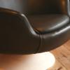 1970s Vinyl Swivel Chair (3)