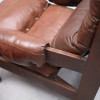 Brown Leather Vintage Chairs (3)
