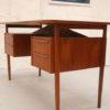 Danish Small Teak Desk (1)