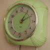 Green Bakelite Smiths Wall Clock
