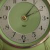 Green Bakelite Smiths Wall Clock (2)