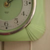 Green Bakelite Smiths Wall Clock (3)