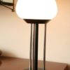 1970s Glass Table Lamp