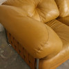 Large 1970s Leather Modular Sofa (3)