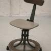Leabank Industrial Swivel Chair
