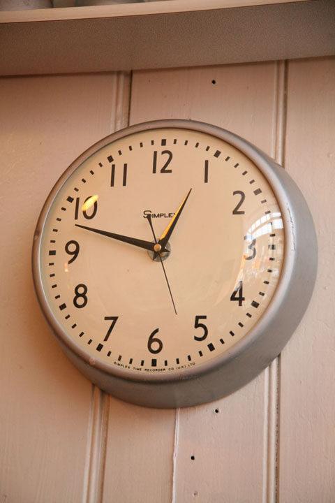 Simplex Wall Clock