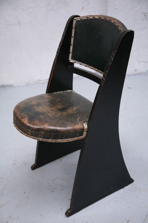 Vintage Arts and Crafts Chair (3)