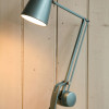 Vintage Blue Horstmann Simplus Desk Light