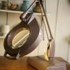 Vintage Illuminated Bench Magnifier