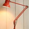 Vintage Orange Anglepoise Lamp 01