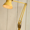 Vintage Yellow Anglepoise Desk Lamp (1)