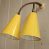 1950s Double Wall Light