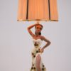 1950s Lady Table Lamp