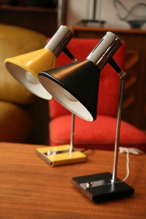 1970s Desk Lights