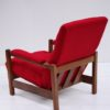 1970s Red Lounge Chair 2