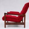 1970s Red Lounge Chair 4