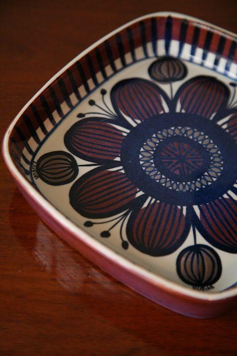 Ceramic Bowl designed by Nils Thorssen for Royal Copenhagen Denmark