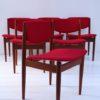 Set of 6 Teak Model 197 Dining Chairs by Finn Juhl for France and Sons Denmark1
