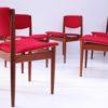 Set of 6 Teak Model 197 Dining Chairs by Finn Juhl for France and Sons Denmark2
