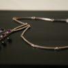 Silver and Amethyst Pendant by Nils Eriik, Denmark 2