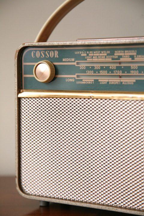 Vintage Cossor Radio