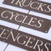 Vintage Emanel Signs