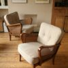 1950s Bergere Modernist Chairs (1)