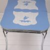 1950s Chrome & Formica Extending Dining Table1