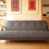 1950s Grey Modernist Sofa Bed (2)