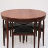Dining Table and 4 Chairs by Hans Olsen for Frem Rojle Denmark