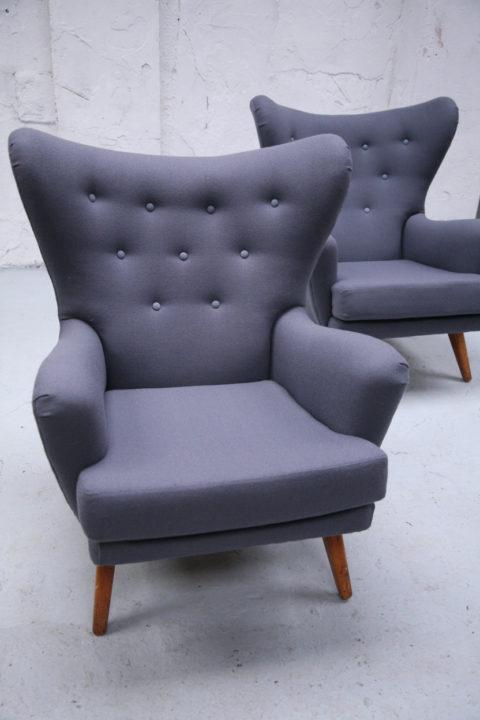 G Plan Modernist Pair Arm Chairs